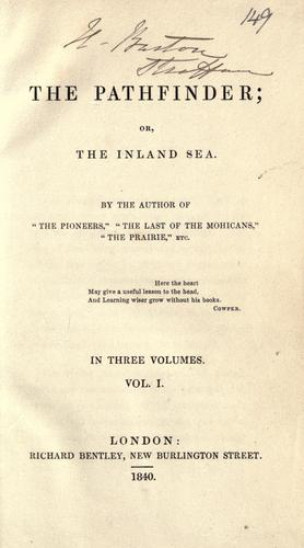 Download The pathfinder, or, The inland sea