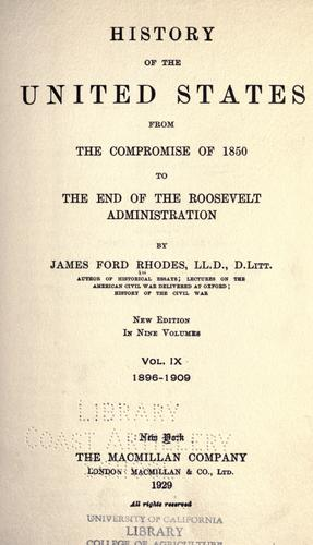 Download History of the United States from the compromise of 1850…