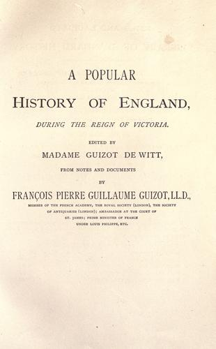 Download A popular history of England