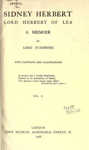 Download Sidney Herbert, Lord Herbert of Lea