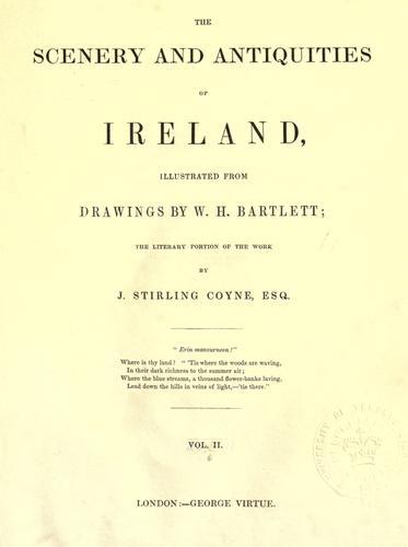 The scenery and antiquities of Ireland.