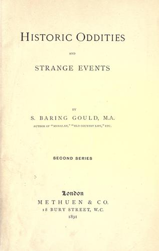 Download Historic oddities and strange events