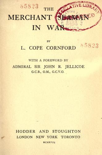 Download The merchant seaman in war