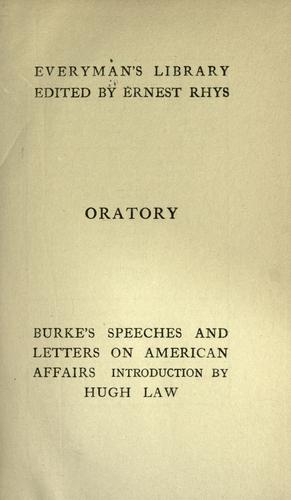 Download Burke's speeches and letters on American affairs.