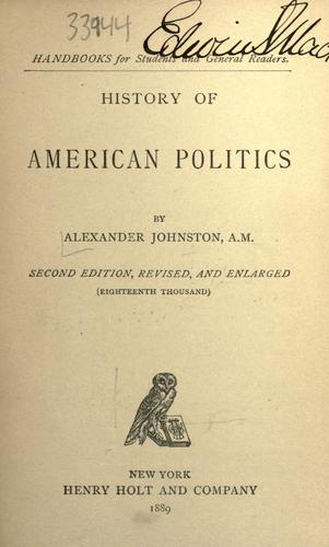 Download History of American politics