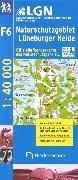 Topographische Karte 1:50 000 mit Wanderwegen