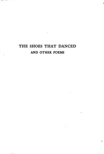 The shoes that danced, and other poems
