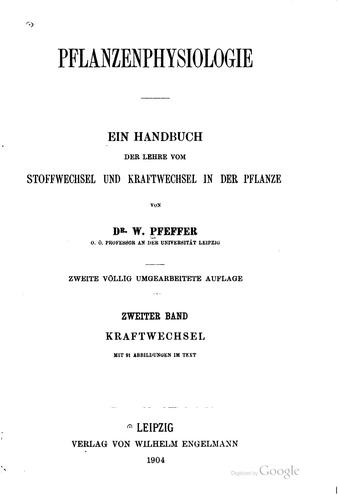 Download Pflanzenphysiologie