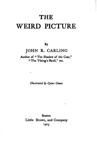The weird picture