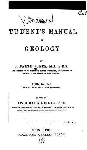 Download The student's manual of geology