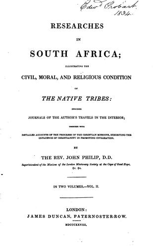 Download Researches in South Africa