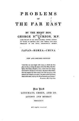 Download Problems of the Far East