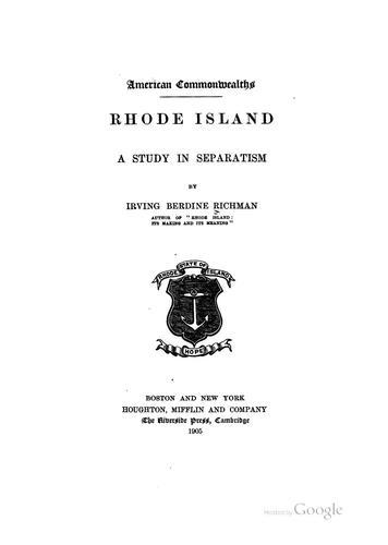 … Rhode Island