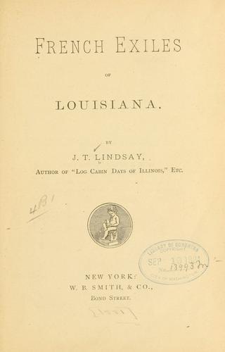 French exiles of Louisiana.