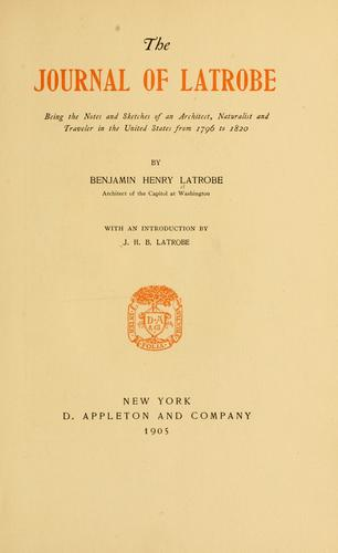 Download The journal of Latrobe.