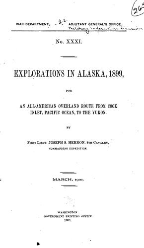Download Explorations in Alaska, 1899