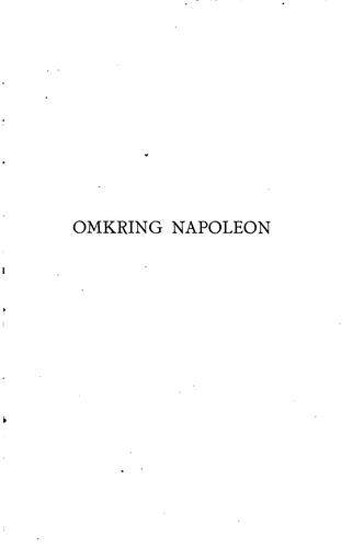Omkring Napoleon.