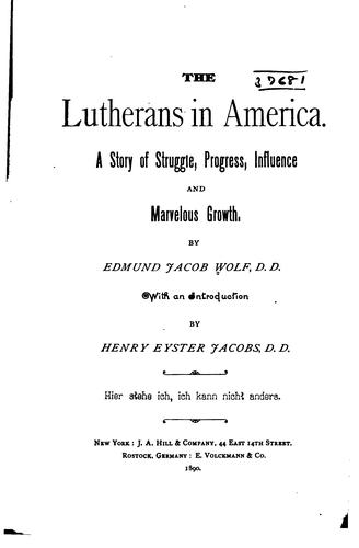 Download The Lutherans in America.