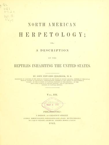 Download North American herpetology