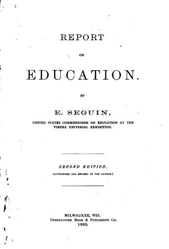 Report on education.