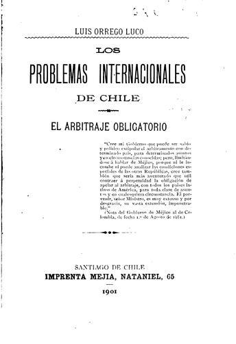 Download Los problemas internacionales de Chile