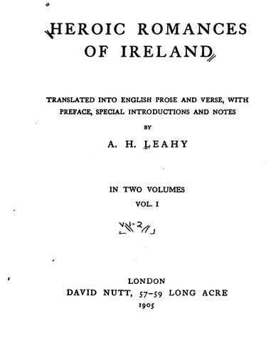 Download Heroic romances of Ireland
