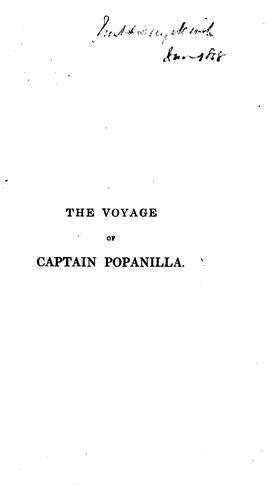 The voyage of Captain Popanilla.
