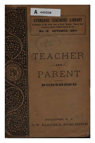 The teacher and the parent
