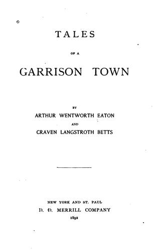 Tales of a garrison town
