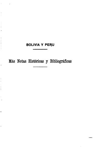 Download Bolivia y Perú