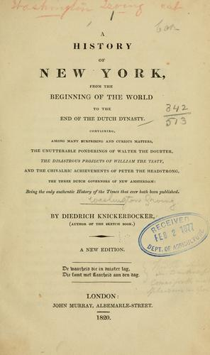 Download A history of New York