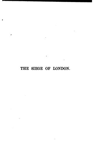 Download The siege of London, The Pension Beaurepas, and The point of view.