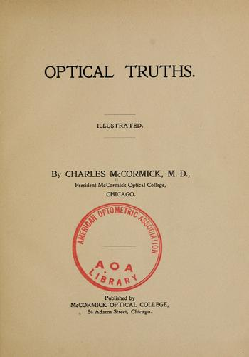 Download Optical truths.