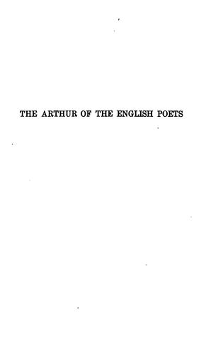 Download The Arthur of the English poets