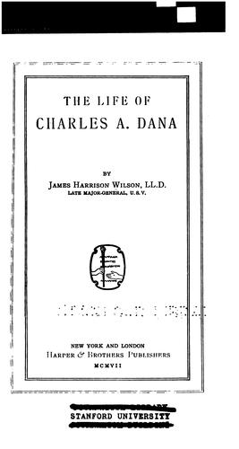 Download The life of Charles A. Dana