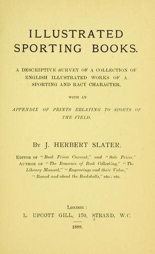 Download Illustrated sporting books