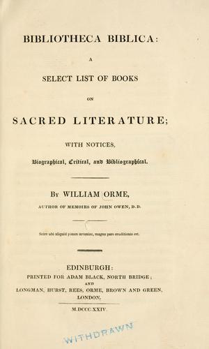 Download Bibliotheca biblica