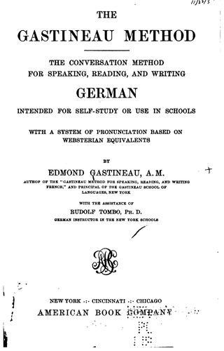 Download The Gastineau method.