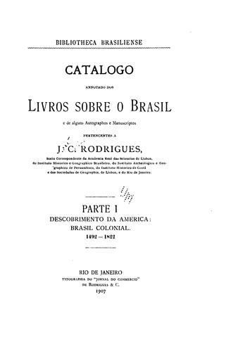 Bibliotheca brasiliense.