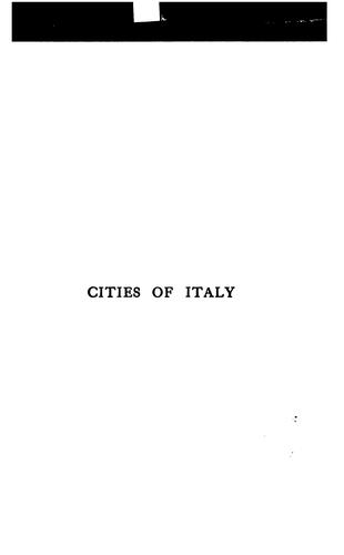 Cities of Italy