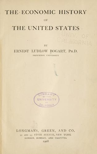 Download The economic history of the United States