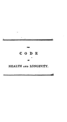 The code of health and longevity