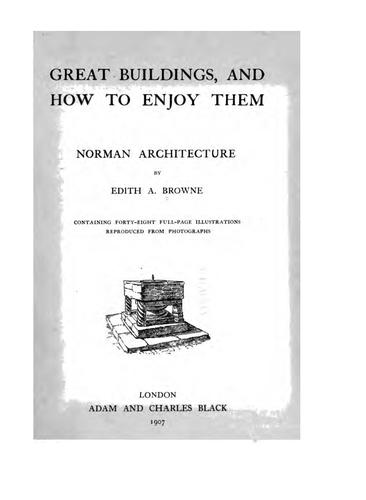 Download Norman architecture