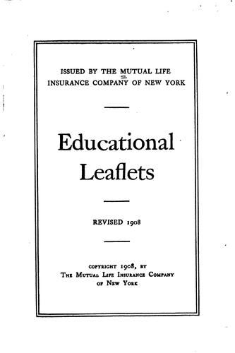 Download Educational leaflets.