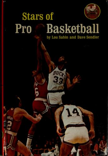 Stars of pro basketball by Louis Sabin