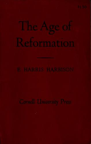 The Age of Reformation.