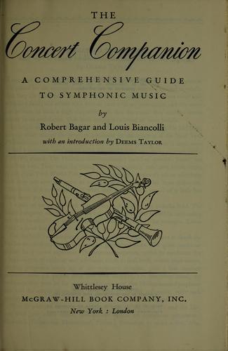 Download The concert companion