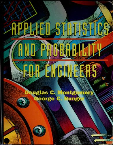 Download Applied statistics and probability for engineers