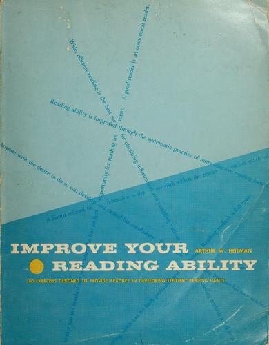 Improve your reading ability.