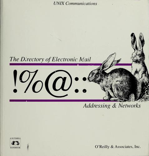 Download !%@:: a directory of electronic mail addressing and networks